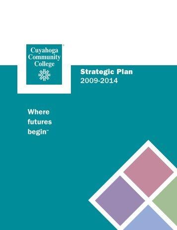 Strategic Plan 2009-2014 - Cuyahoga Community College