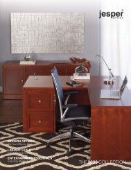 View the Jesper Office 2000 catalog (PDF) - Scan Home