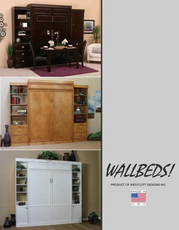 View The Wallbed Catalog (PDF)   Scan Home
