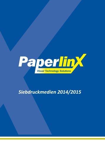 PPX Katalog Siebdruckmedien 2014/2015
