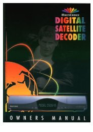 Operators manual for the 645 decode - UEC Technologies