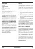 Operators manual for the 645 decode - UEC Technologies - Page 3