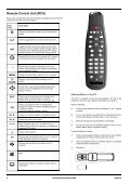 Operators manual for the 645 decode - UEC Technologies - Page 6