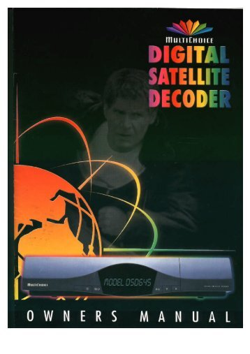 Operators manual for the 660 decoder - UEC Technologies