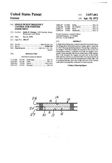 United States Patent - The Blue Guitar