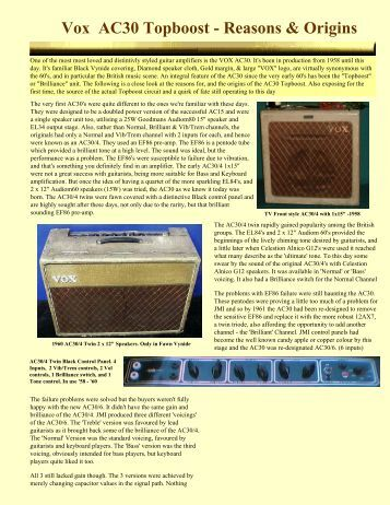 Trainwreck Express Schematics furthermore Vox Ac Topboost Reasons Origins The Blue Guitar in addition Art C together with  on train wreck guitar amp schematics