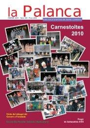 Carnestoltes 2010 - La Palanca