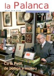 Ca la Petit, de botiga a museu - La Palanca
