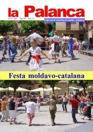 Festa moldavo-catalana - La Palanca