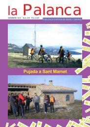 Pujada a Sant Mamet - La Palanca