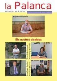 Mingo Sabanés (Artesa) - La Palanca