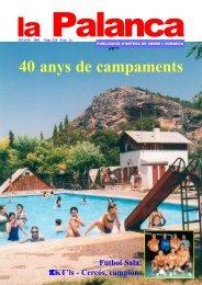 40 anys de campaments (1962-2002) - La Palanca