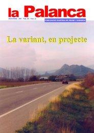 La variant, en projecte - La Palanca