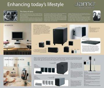 Brochure of Jamo Home Theatre speaker package - Pacific Hi Fi ...