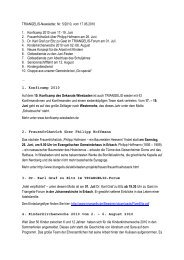 TRIANGELIS-Newsletter 5-2010 - Triangelis.de