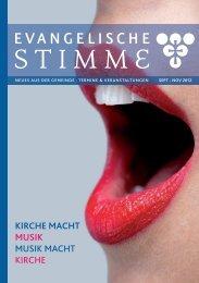 KIRCHE MACHT MUSIK MUSIK MACHT KIRCHE - Triangelis.de