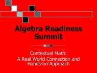 Contextual Math - Triangle High Five