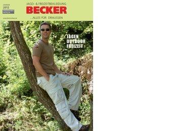 Becker Kat. 2012 - BECKER ...alles fuer draussen