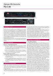 Katalogseiten aus dem E01 - ELA-Technik