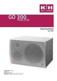 GO 300 - Klein + Hummel