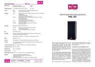 Prospectus Version 10/01 - Klein + Hummel
