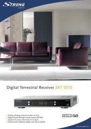 LL SRT 5010 ENG.indd - STRONG Digital TV