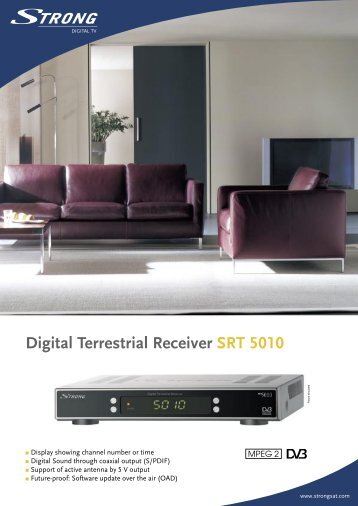 LL SRT 5010 ENG.indd - STRONG Digital TV