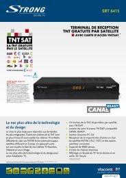 SRT 6415 - STRONG Digital TV