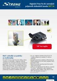 Digitalni Free-To-Air zemaljski prijamnik slobodnih kanala SRT 56