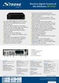 Ricevitore Digitale Terrestre ad Alta Definizione SRT 8102+ - Page 2