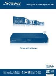 Felhasználói kézikönyv - STRONG Digital TV