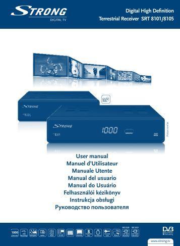 User manual Manuel d'Utilisateur Manuale Utente Manual del ...