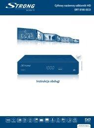 Instrukcja obsługi - STRONG Digital TV