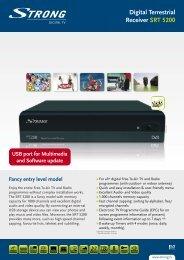Leaflet (pdf) - STRONG Digital TV
