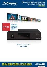 Prijemnik za Digitalnu Zemaljsku Televiziju u HD Rezoluciji SRT 8200
