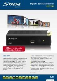 Digitalni Zemaljski Prijemnik SRT 5302 - STRONG Digital TV