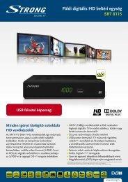 Földi digitális HD beltéri egység SRT 8115 - STRONG Digital TV