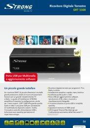 Ricevitore Digitale Terrestre SRT 5300 - STRONG Digital TV