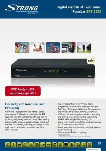 Leaflet (pdf) - STRONG Digital TV