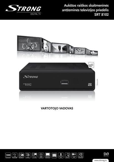vartotojo vadovas - STRONG Digital TV
