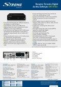 Receptor Terrestre Digital de Alta Definição SRT 8102+ - STRONG ... - Page 2