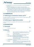 Digital Terrestrial Receiver SRT 5302 - Strong.tv - Page 7