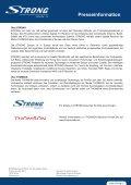 STRONG erweitert Angebot an THOMSON Produkten - Strong.tv - Page 2