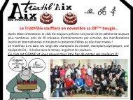 Mois de novembre 2012 - Triathlaix