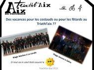 Mois de mai 2013 - Triathl'Aix
