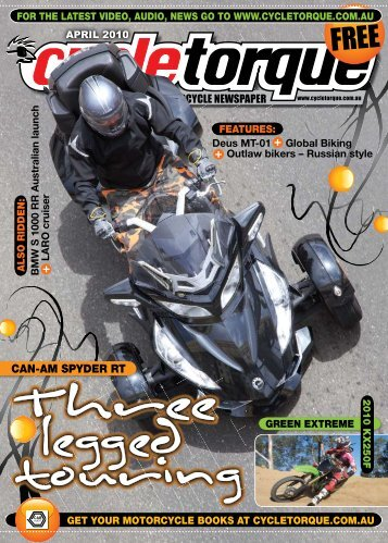 CAN-AM SPYDER RT - Cycle Torque
