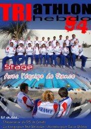 Stage Avec l'équipe de France - Trimax Hebdo