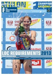 LOC Requirements 2013 - ITU WTS Series Event - International ...