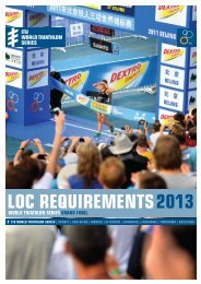 LOC Requirements 2013 - ITU WTS Grand Final - International ...