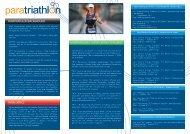 paratriathlon background paratriathlon classification categories ...